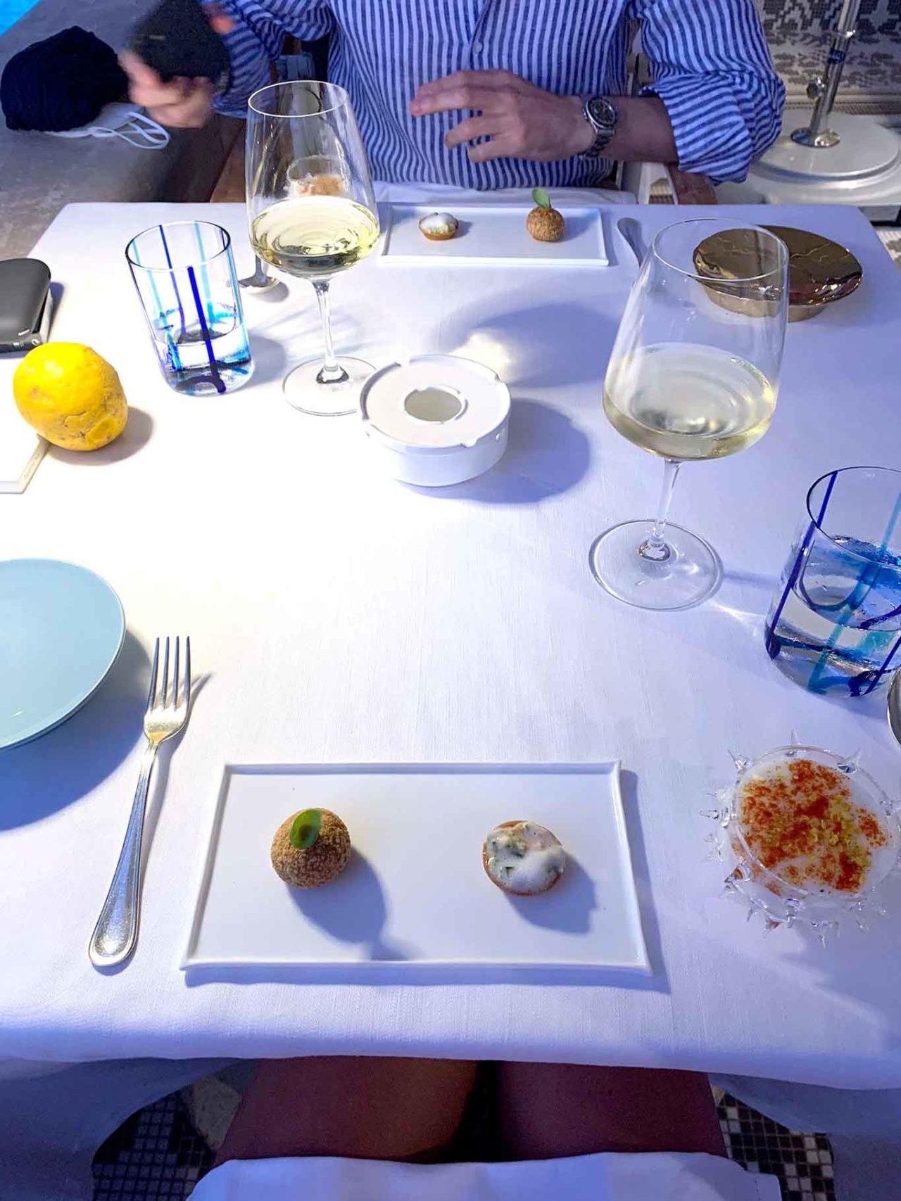 benvenuto ristorante Le Monzù Capri