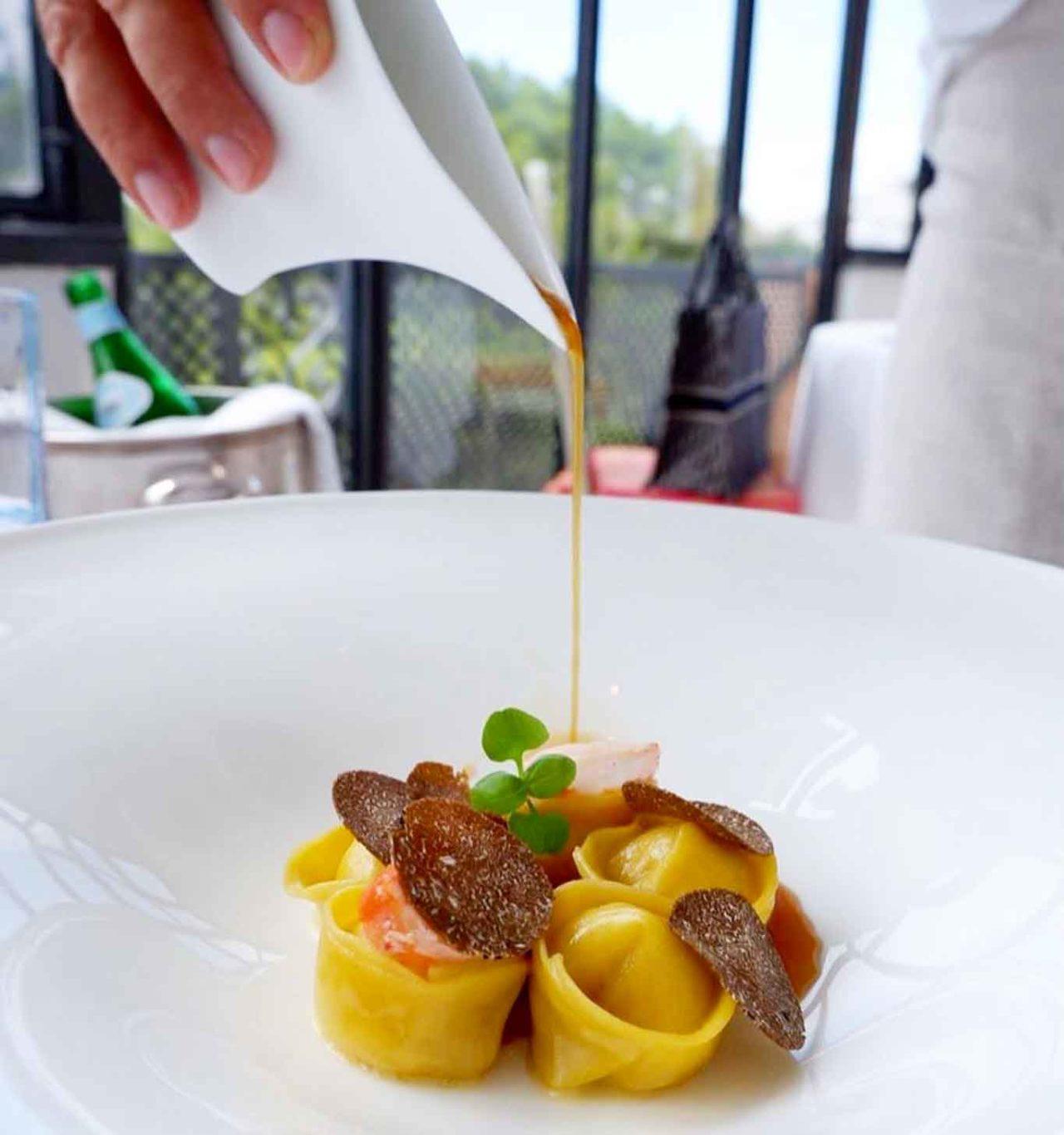 ristorante Le Monzù Capri cappelletti