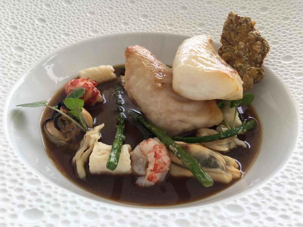 ristorante Re Maurì Salerno pesce San Pietro