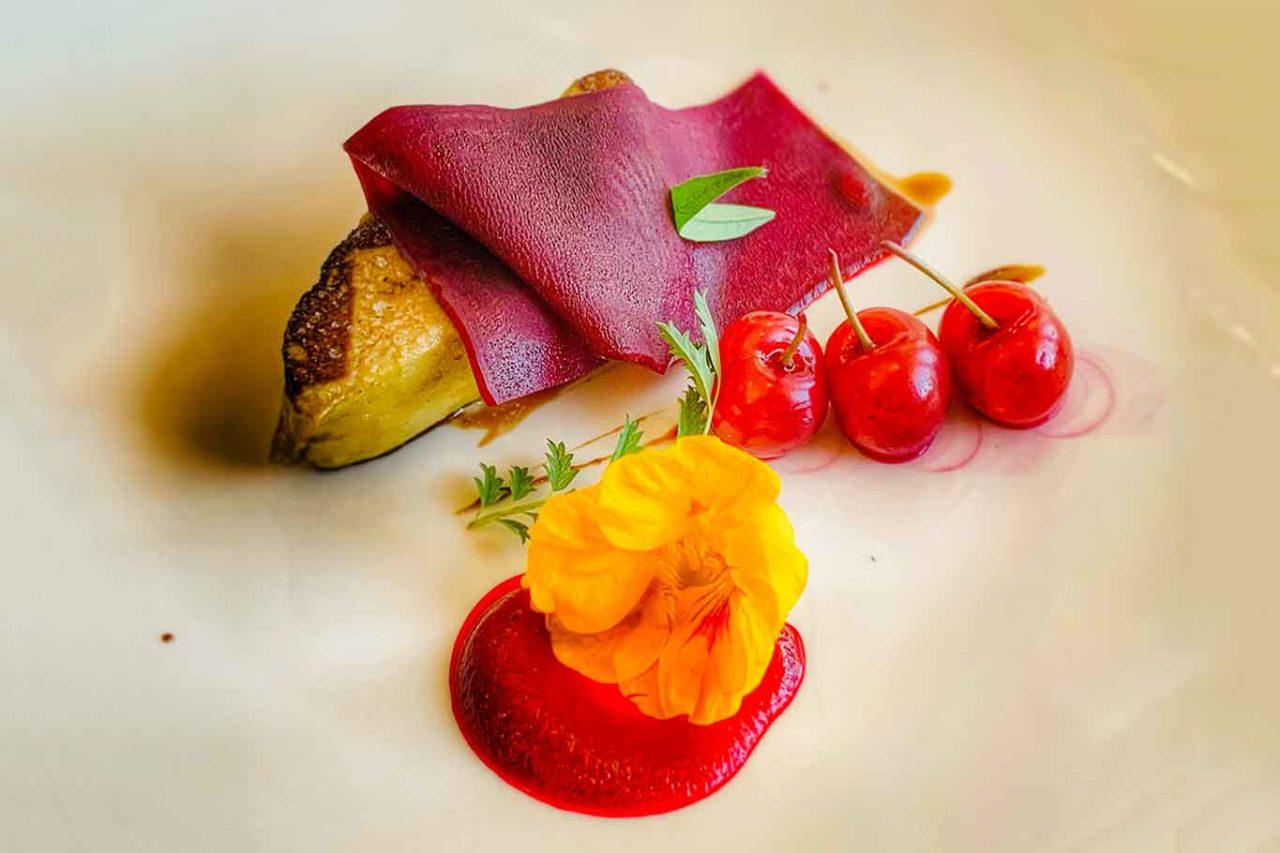 ristorante Villa Maiella Guardiagrele Abruzzo foie gras