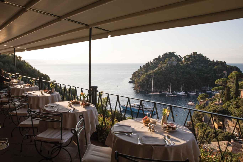 ristorante splendido belmond portofino terrazza