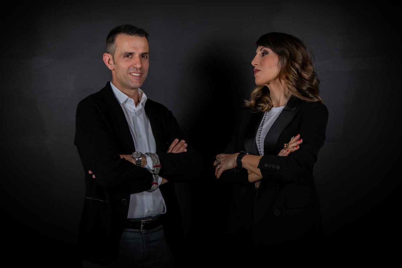 Michele Pepponi e Silvia Sperduti