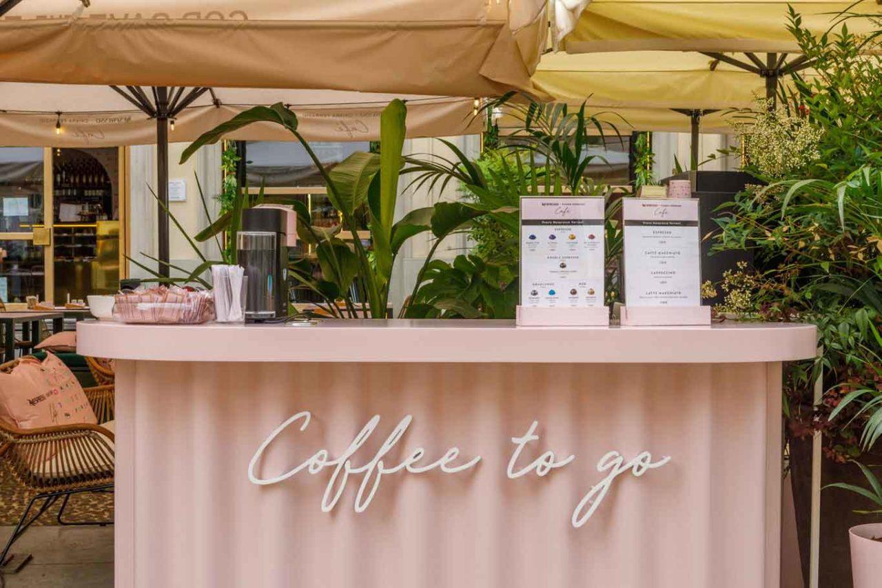 temporary caffe nespresso