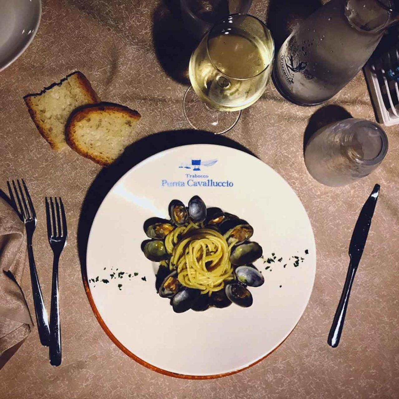 Costa dei Trabocchi in Abruzzo: spaghetti con le cozze