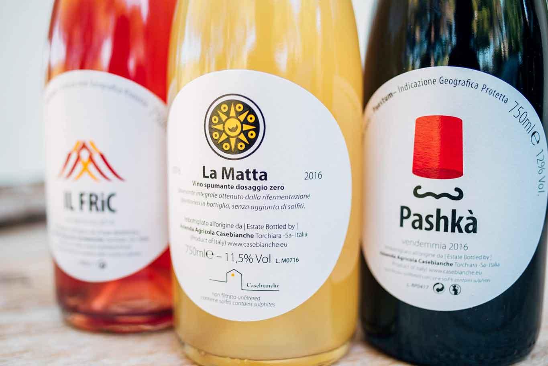 vini naturali Casebianche Cilento
