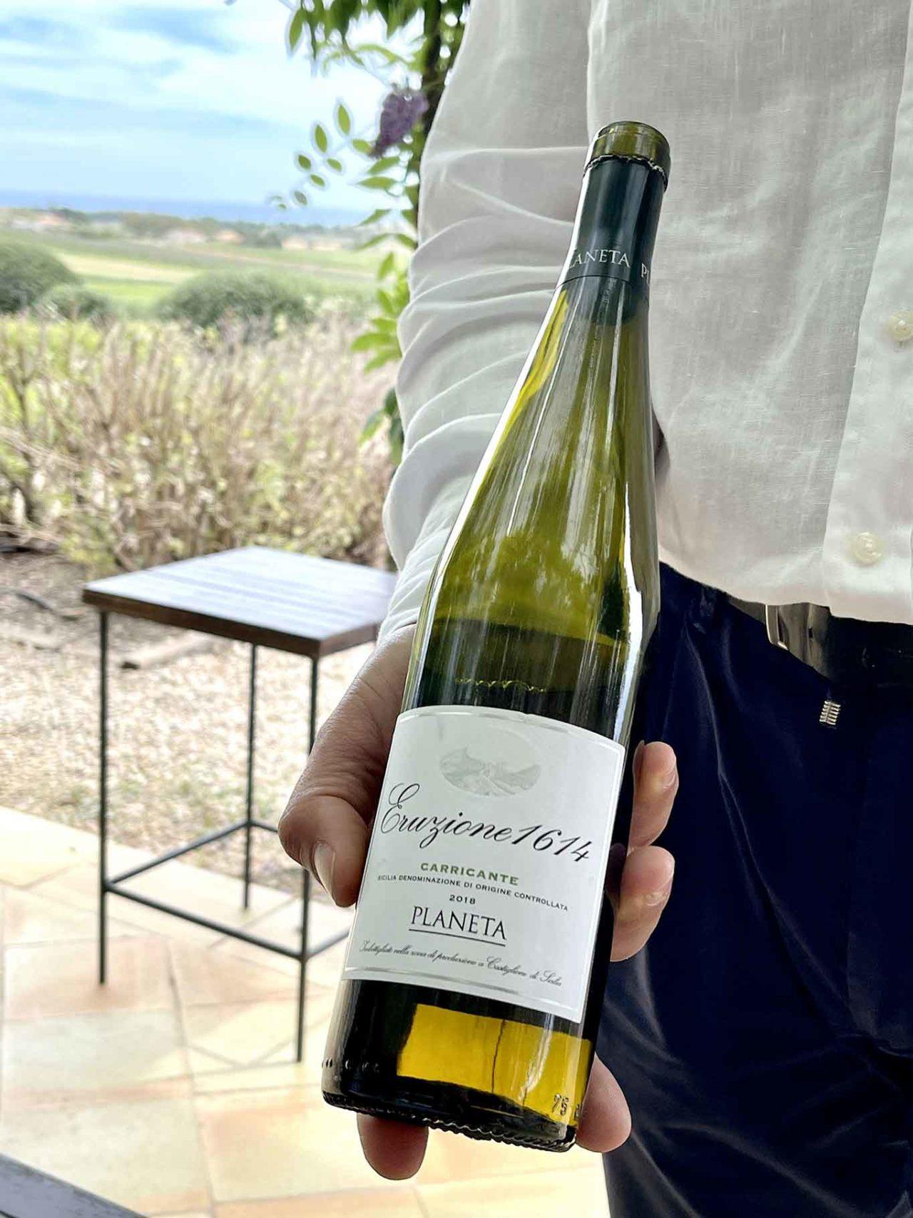 vino carricante Eruzione 1614