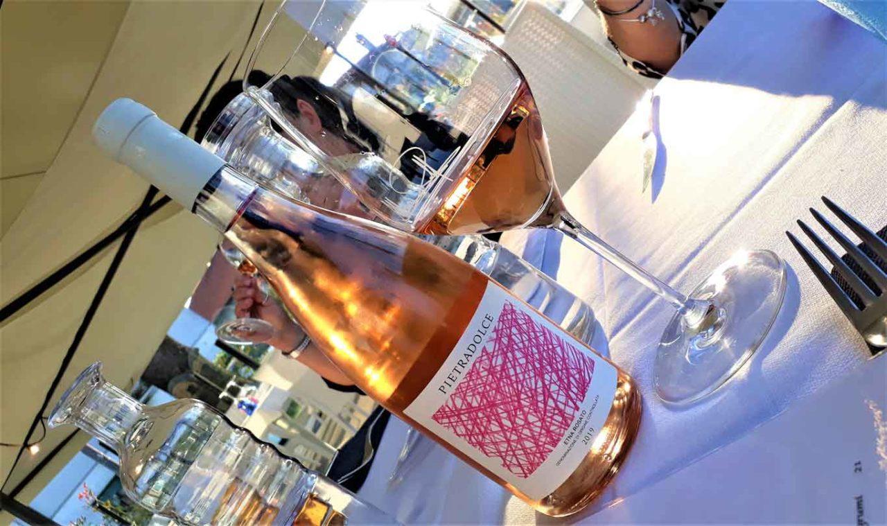 vino etna rosato pietradolce