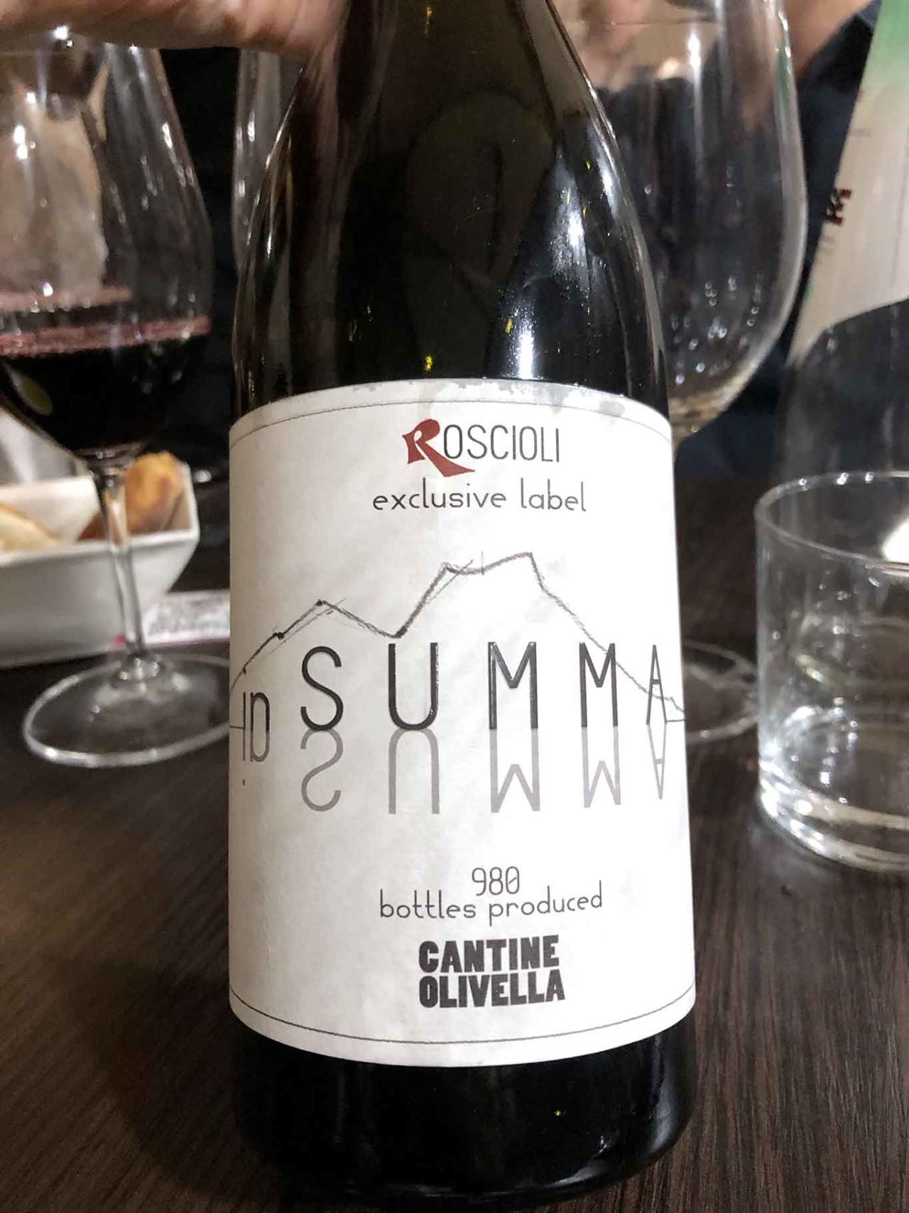 vino Cantine Olivella in Summa