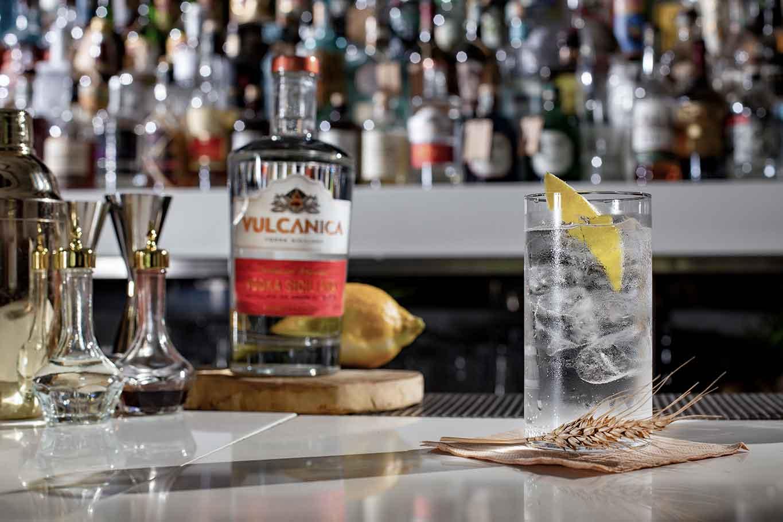 vodka Vulcanica della Sicilia