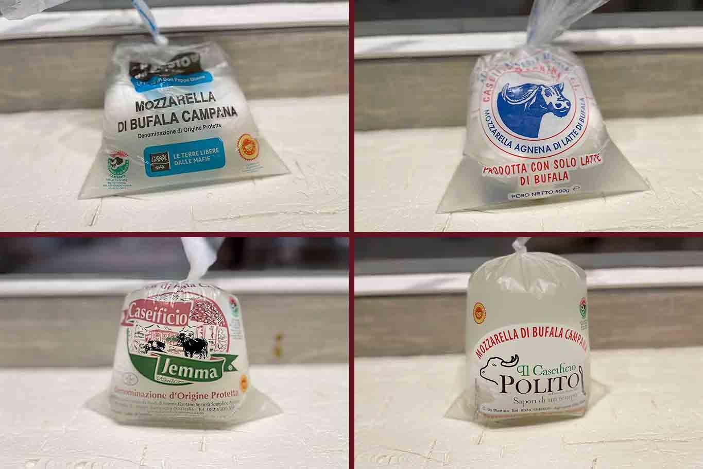 4 migliori mozzarelle di bufala Dop semifinali Mozzarella Championship