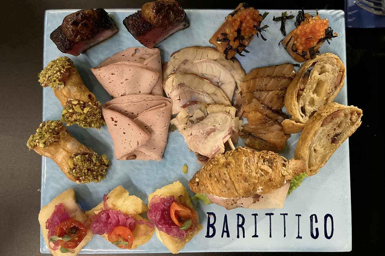 Barittico Vomero Napoli tagliere di mare aperitivo