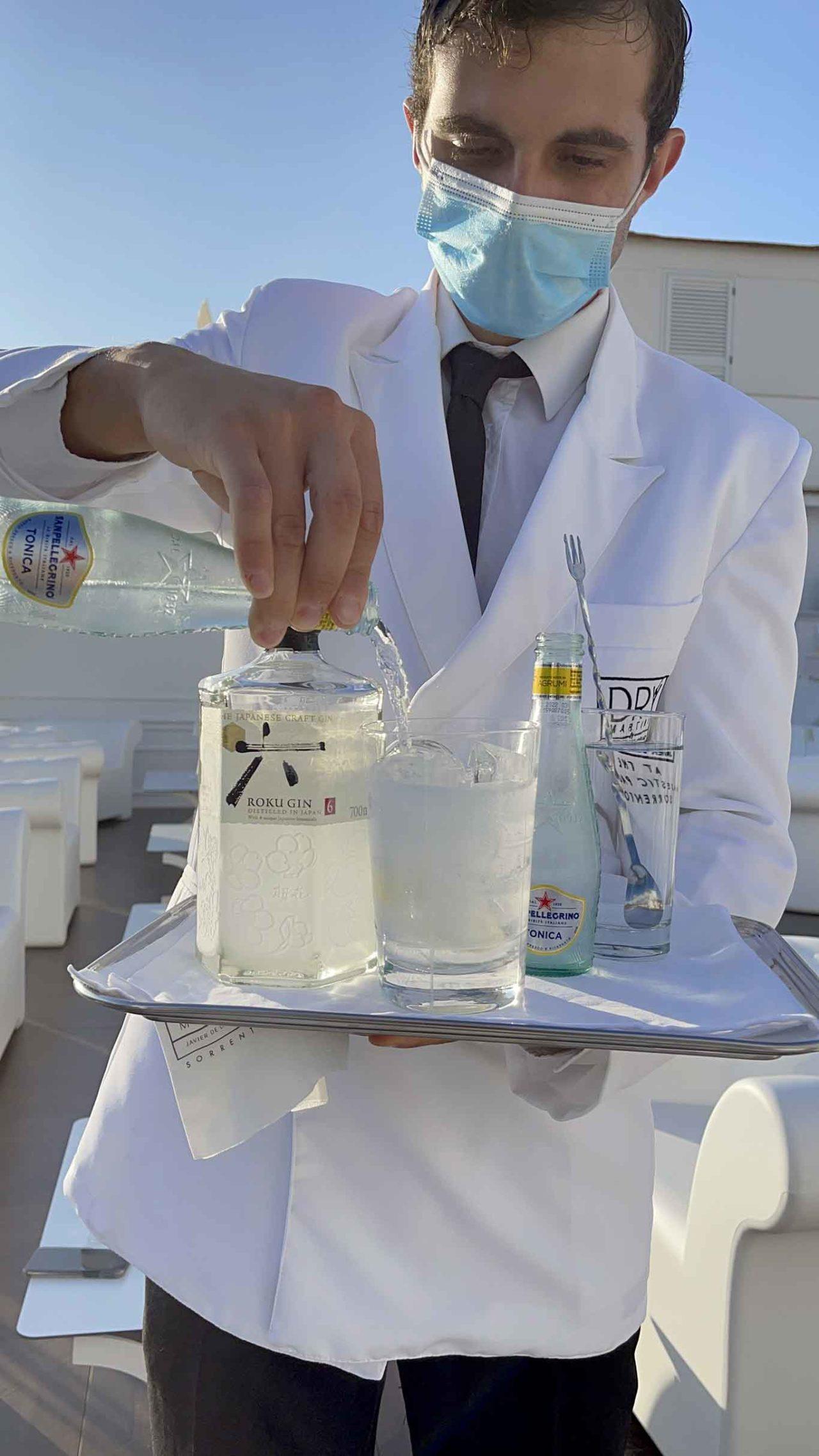 Dry Martini Sorrento gin tonic