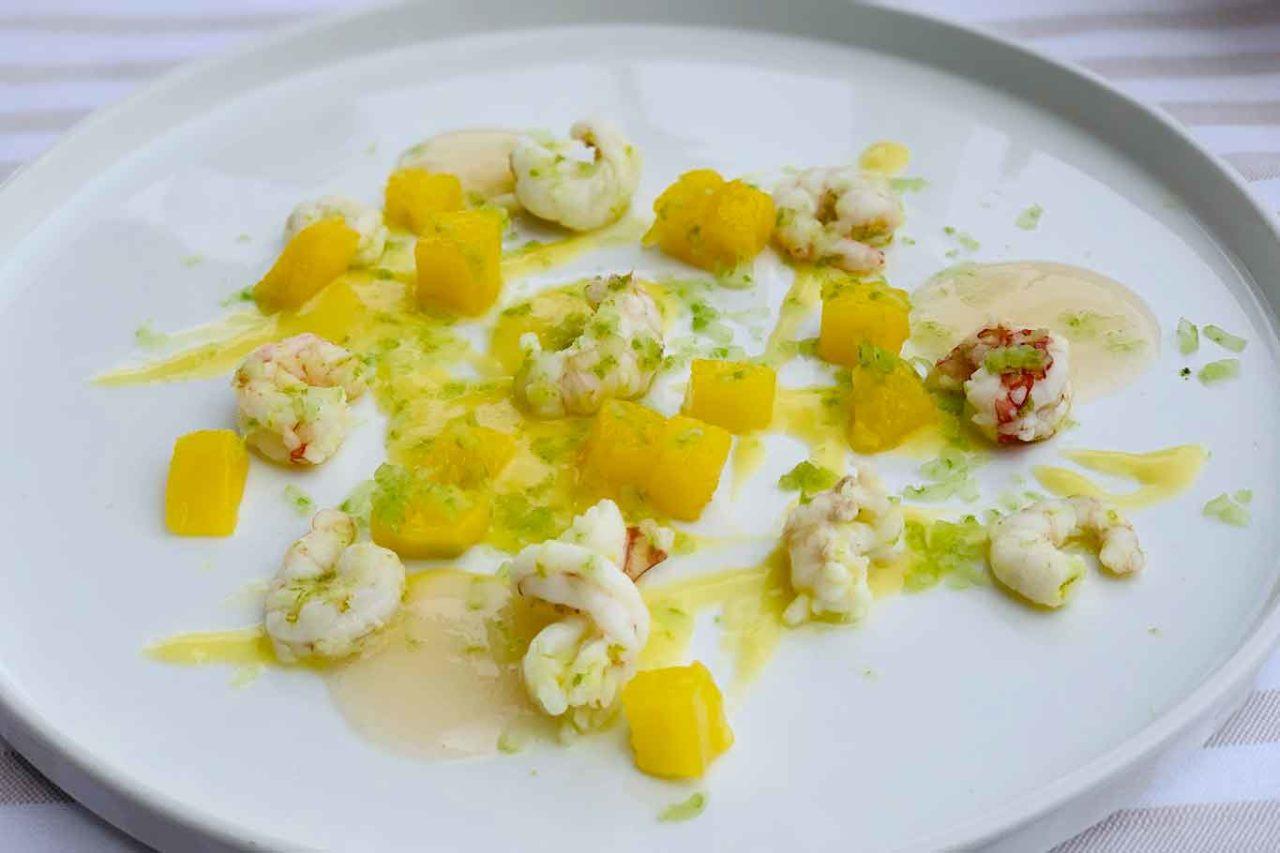 Essenza Cucina di Mare ristorante Costa dei Trabocchi Abruzzo insalata di crostacei