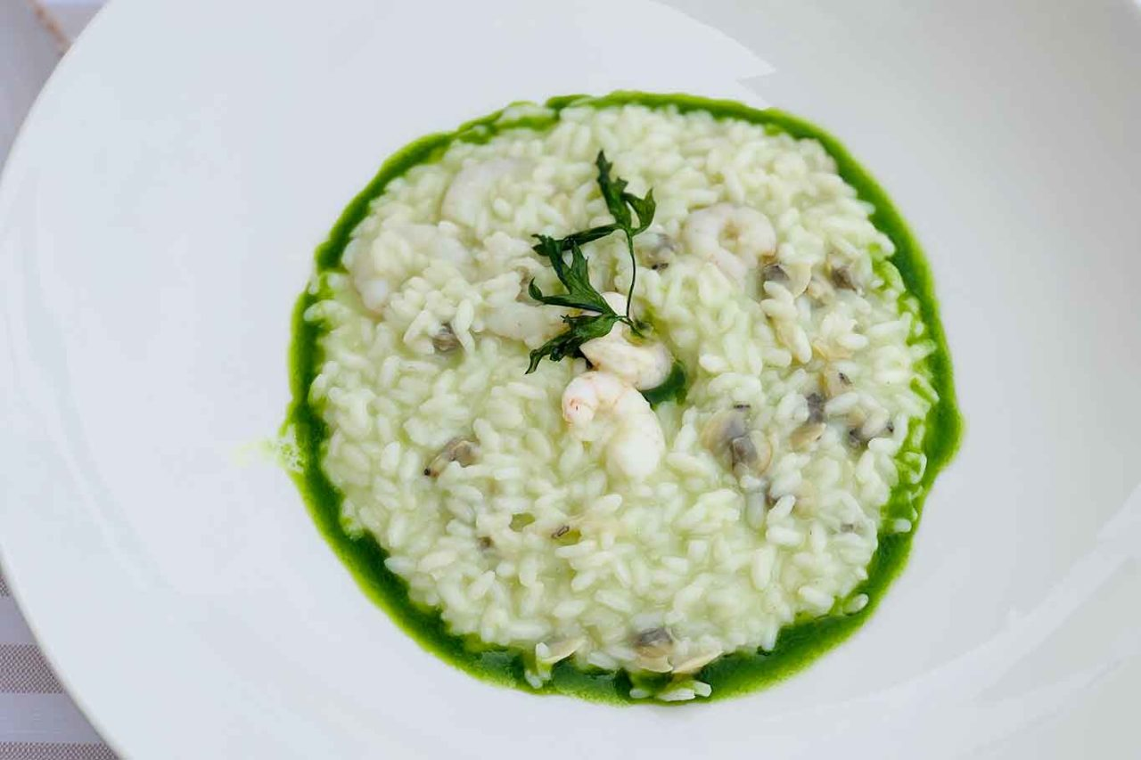 Essenza Cucina di Mare ristorante Costa dei Trabocchi Abruzzo risotto