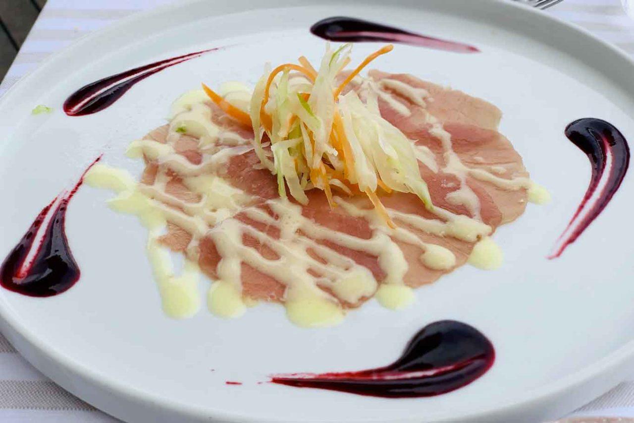 Essenza Cucina di Mare ristorante Costa dei Trabocchi Abruzzo tonno nel bosco