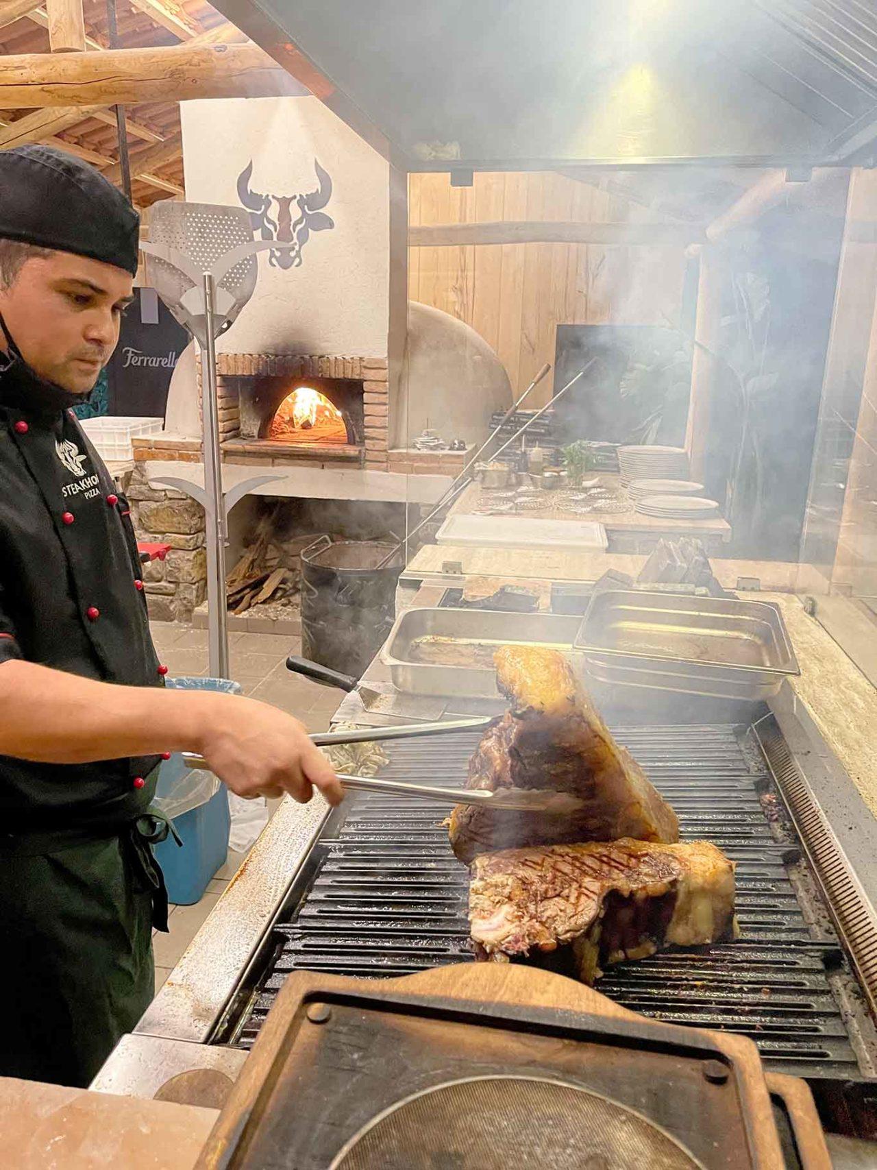 braceria Fuego Santa Maria di Castellabate Cilento: carne e Jorge
