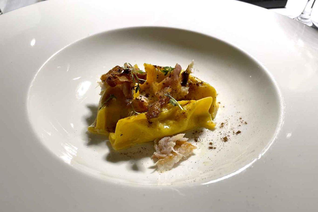 I Capricci di Merion ristorante Umbria fagottello carbonara