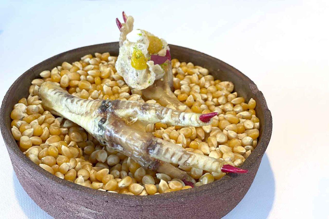 Il Faro di Capo d'Orso ristorante Costiera Amalfitana zampa di gallina