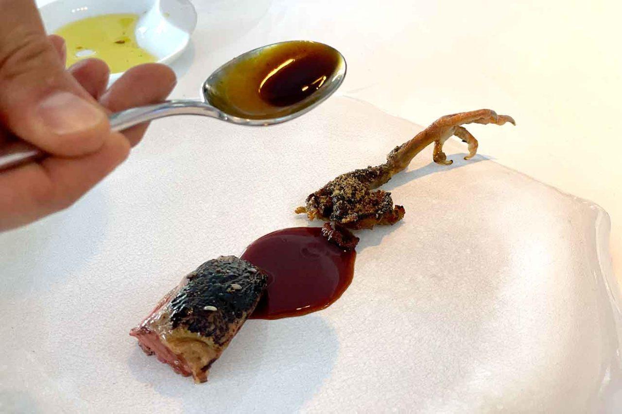 piccione Il Faro di Capo d'Orso ristorante Costiera Amalfitana