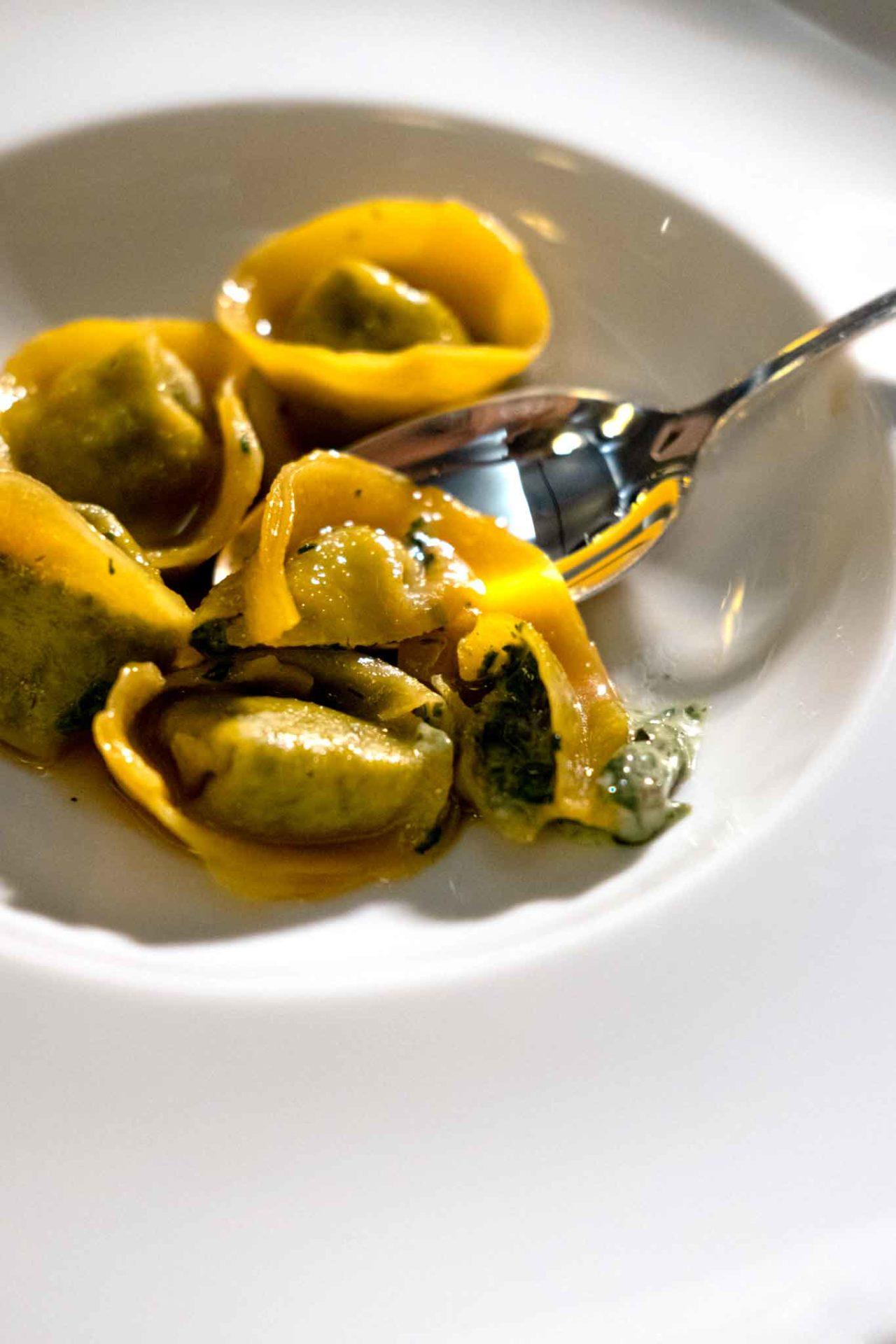 Locanda del Borgo ristorante Telese Terme tortelli di erbe