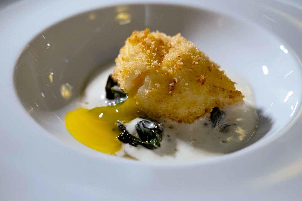 Locanda del Borgo ristorante Telese Terme uovo fritto