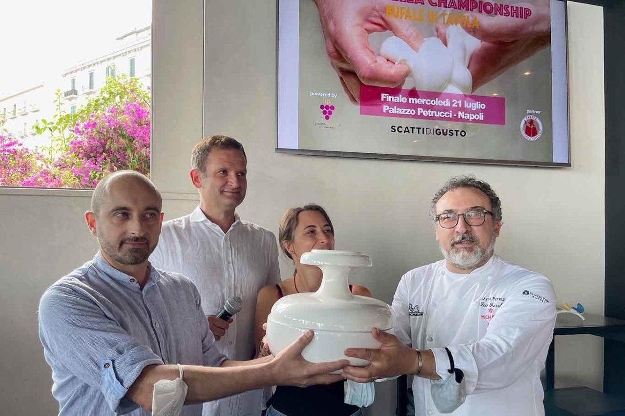 Le migliori mozzarelle di bufala Dop e Non Dop a Caserta e dintorni le acquistate consultando la classifica di Mozzarella Championship 2021