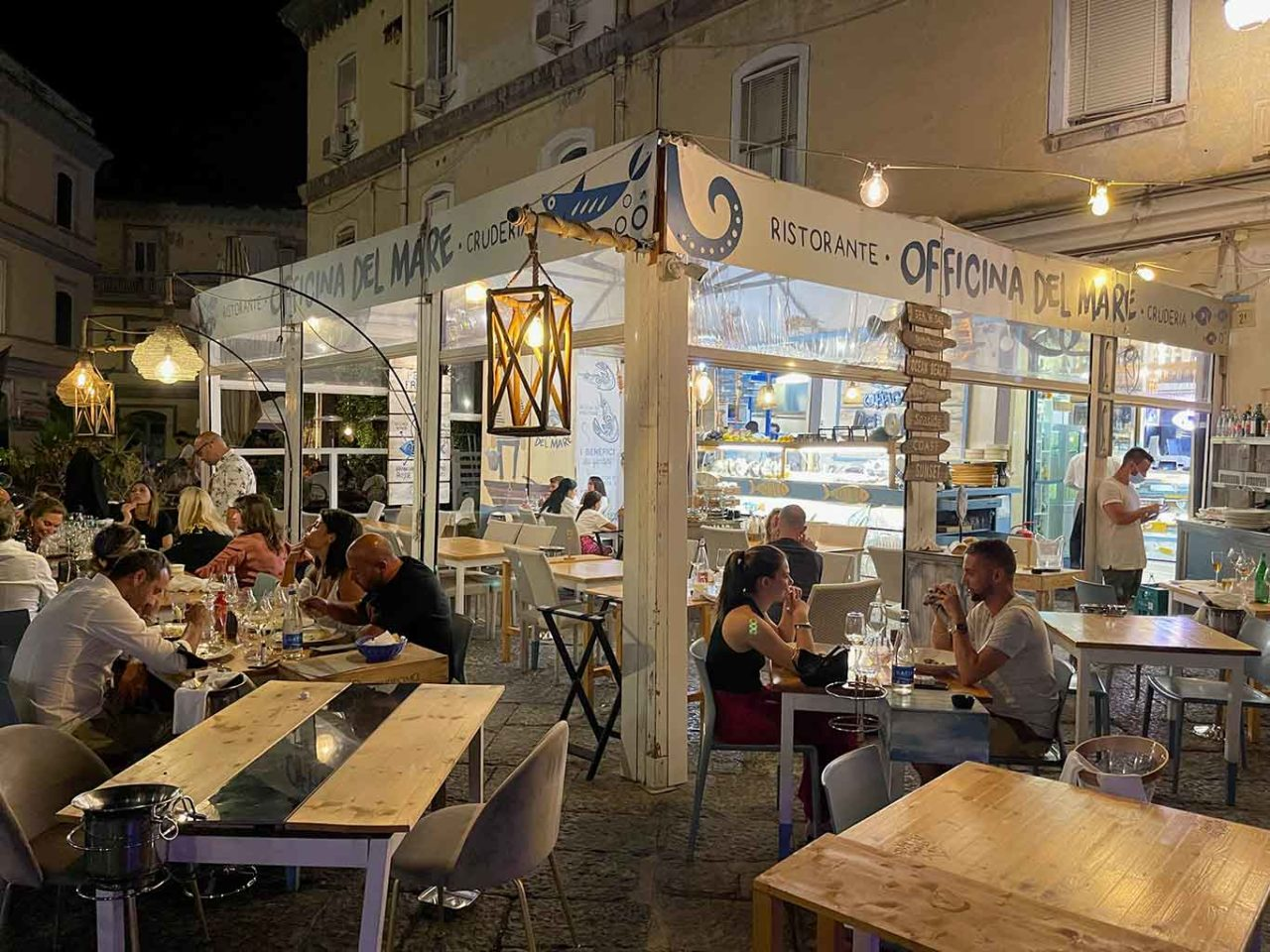 Officina del Mare ristorante Napoli Borgo Marinari