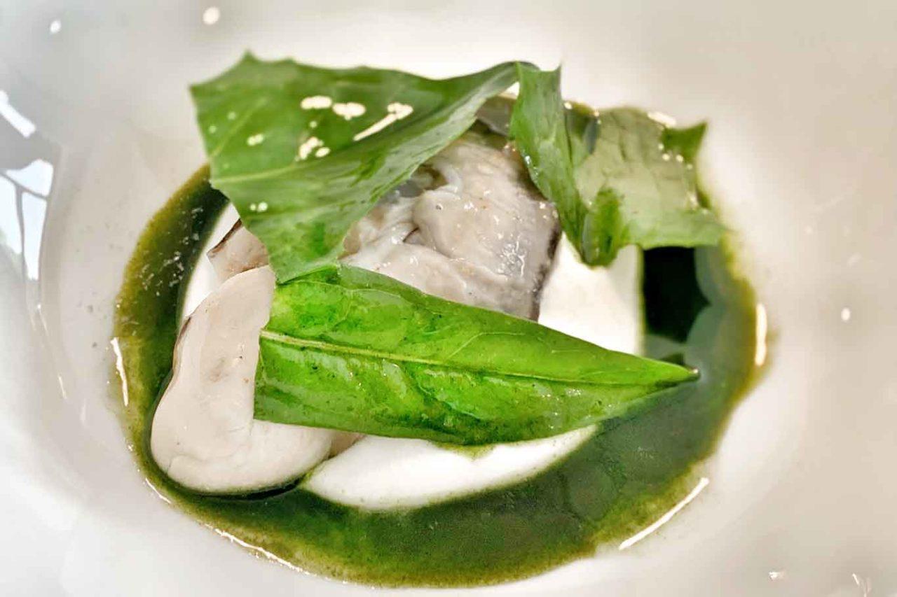 nuovo menu da 150 € ristorante Reale: animelle