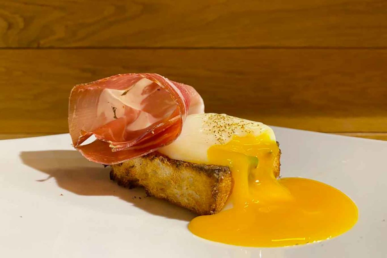 Romanè nuovo ristorante di Stefano Callegari a Roma crostino