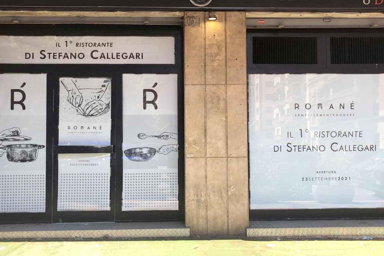 Romanè nuovo ristorante di Stefano Callegari a Roma