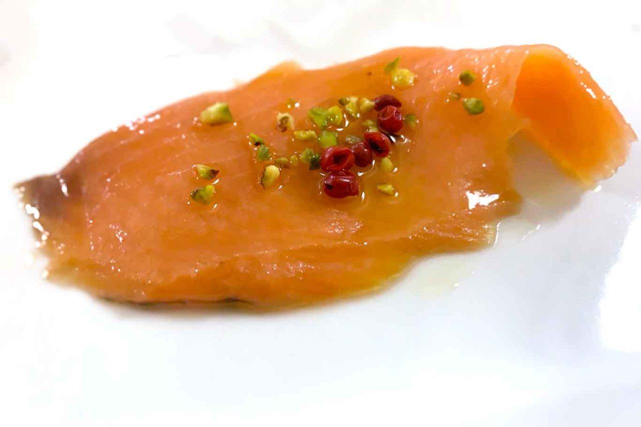 Taverna del Marinaio Lanciano Abruzzo salmone marinato