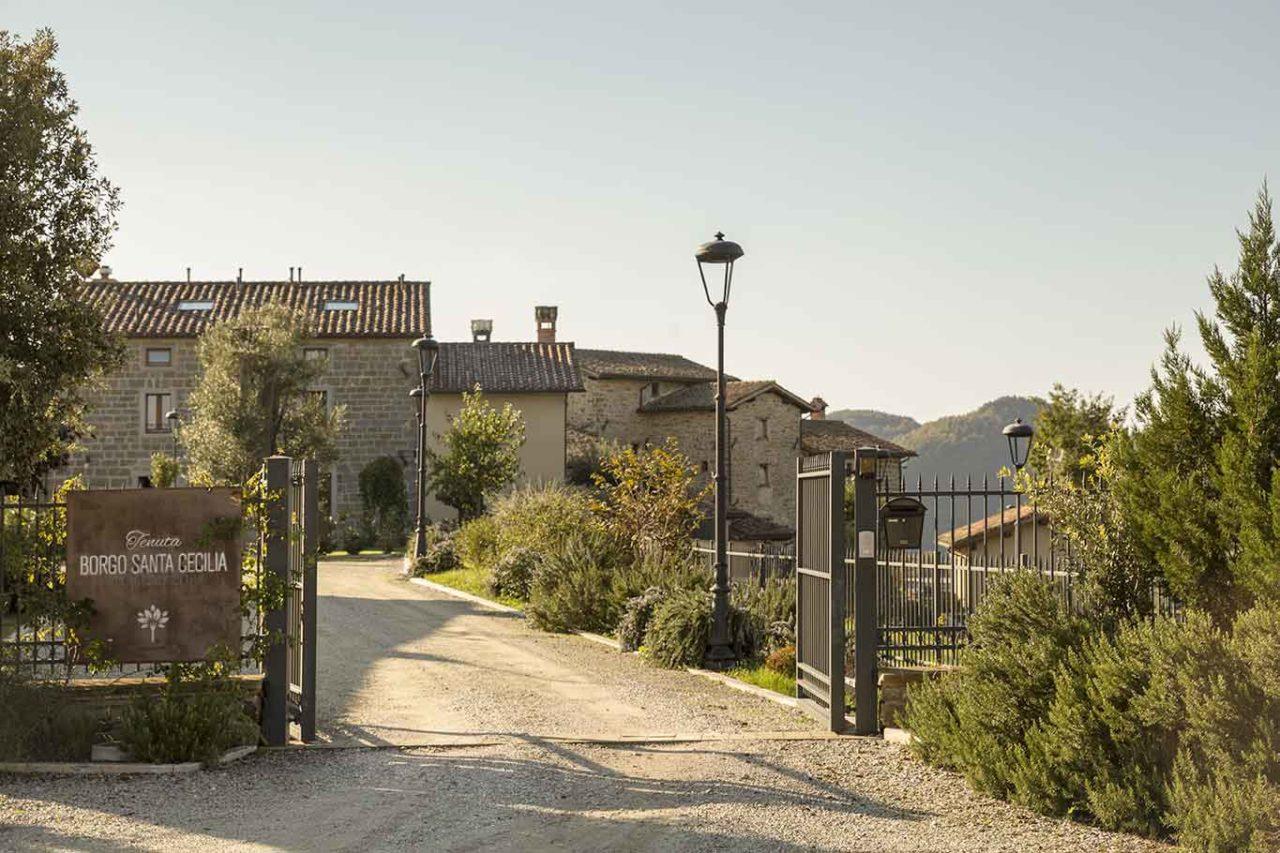 Tenuta Borgo Santa Cecilia Gubbio Umbria