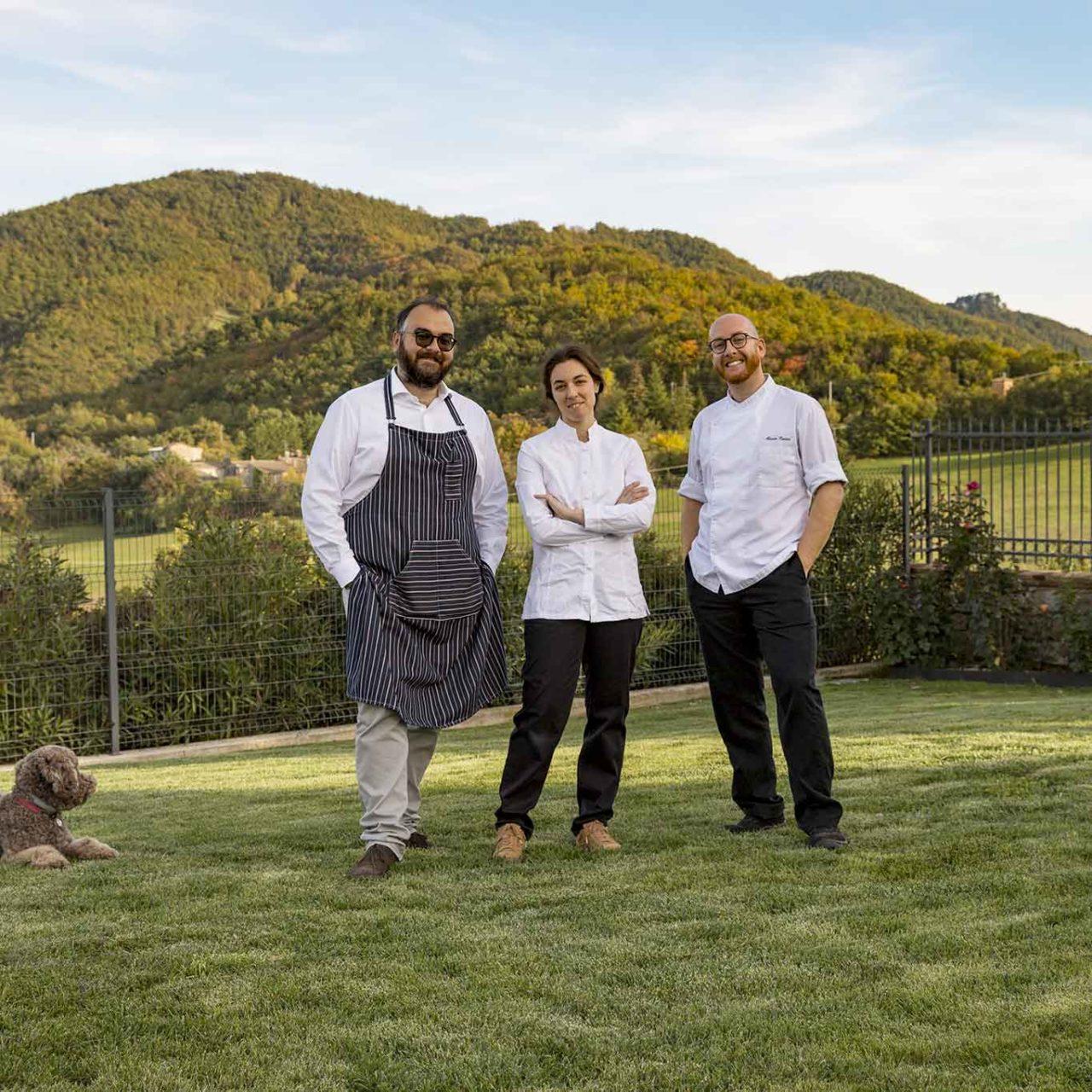 Tenuta Borgo Santa Cecilia Gubbio Umbria staff