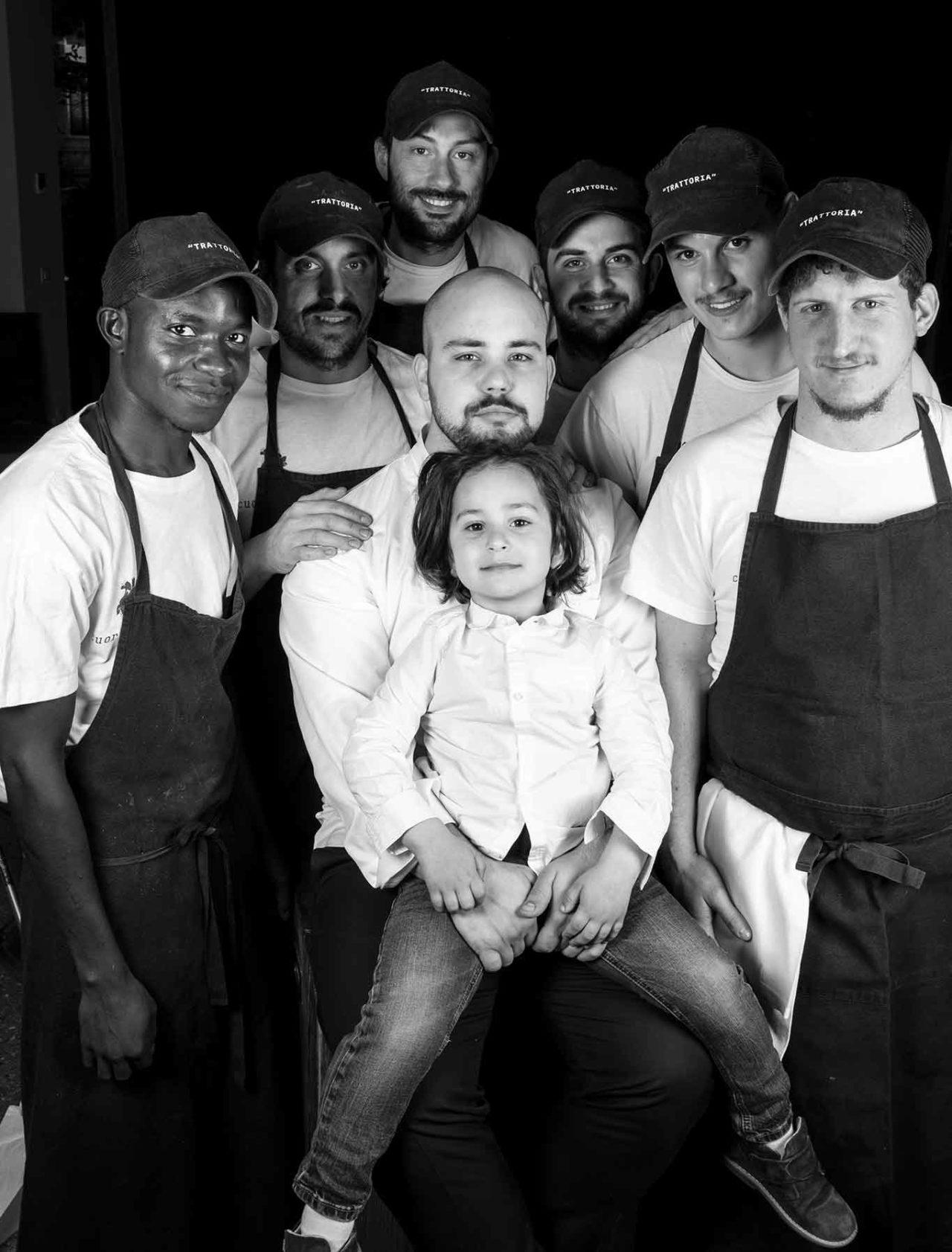 Trattoria Da Lucio Rimini: staff
