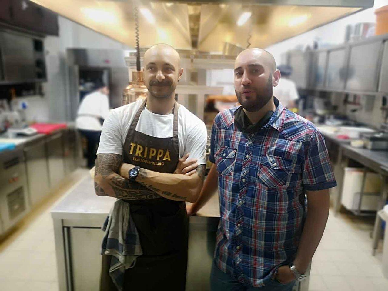Diego Rossi e Pietro Caroli