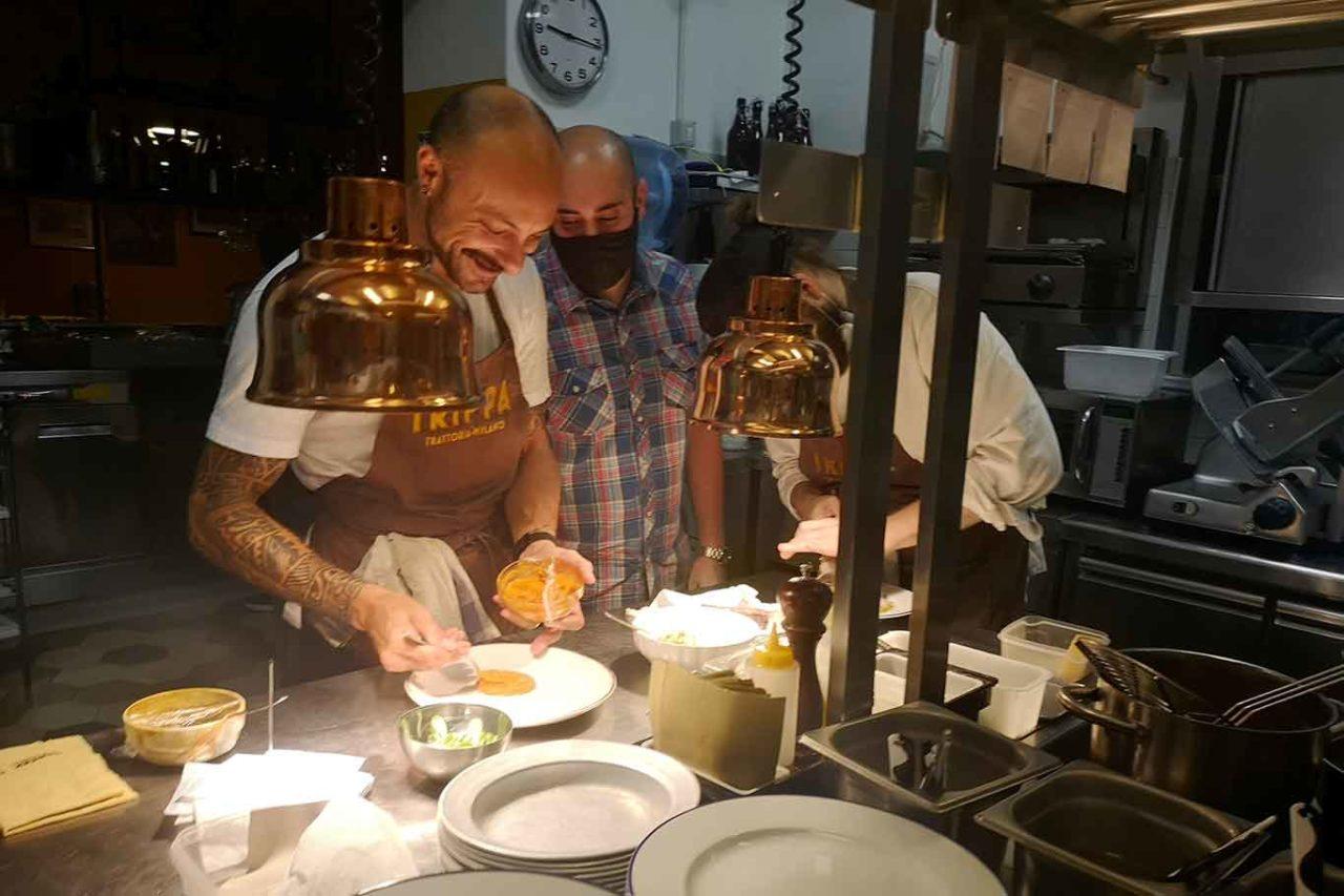 Trippa Milano osteria cucina