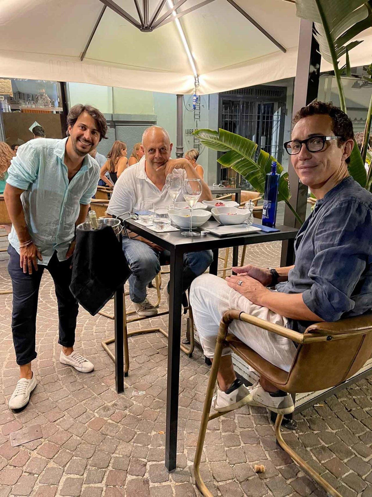 Vincenzo Pagano e Gino Sorbillo