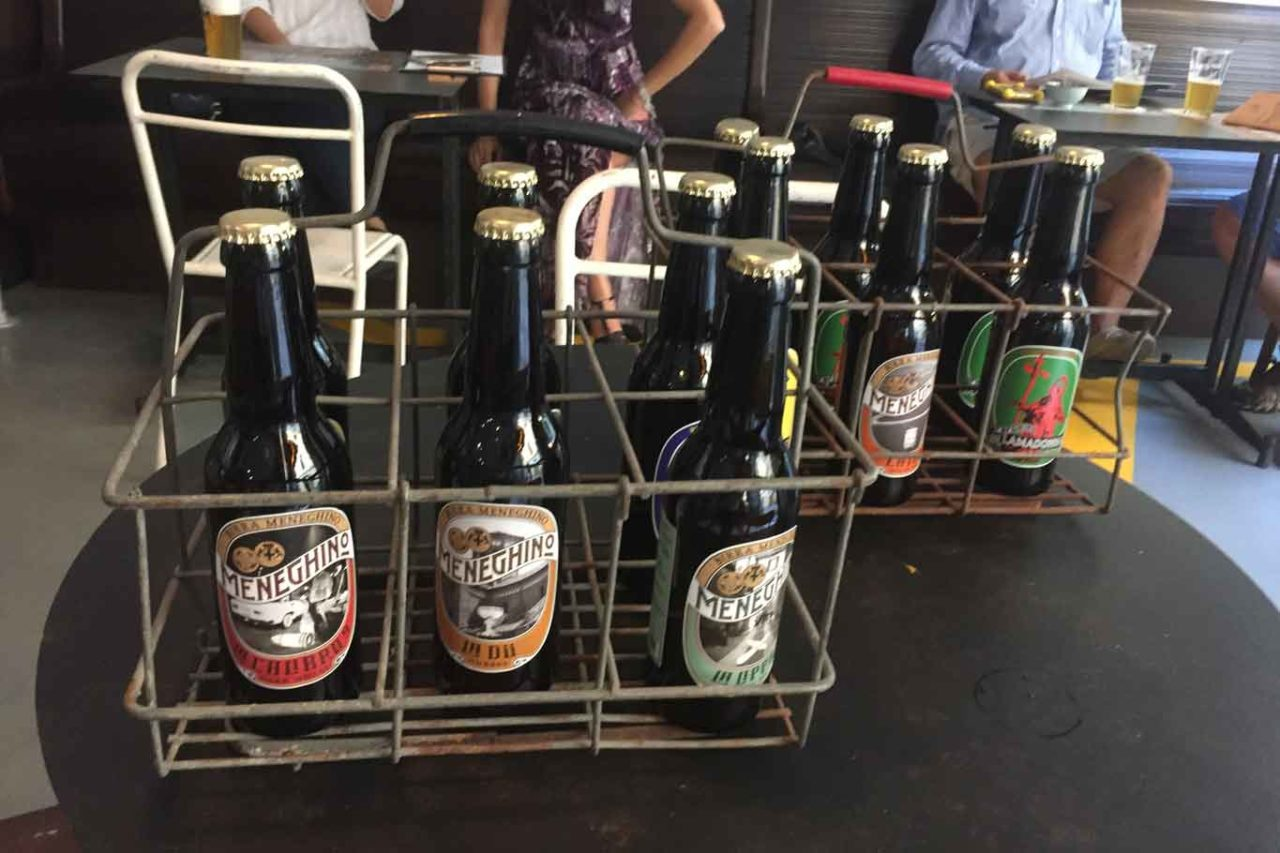 meneghino bottiglie birra