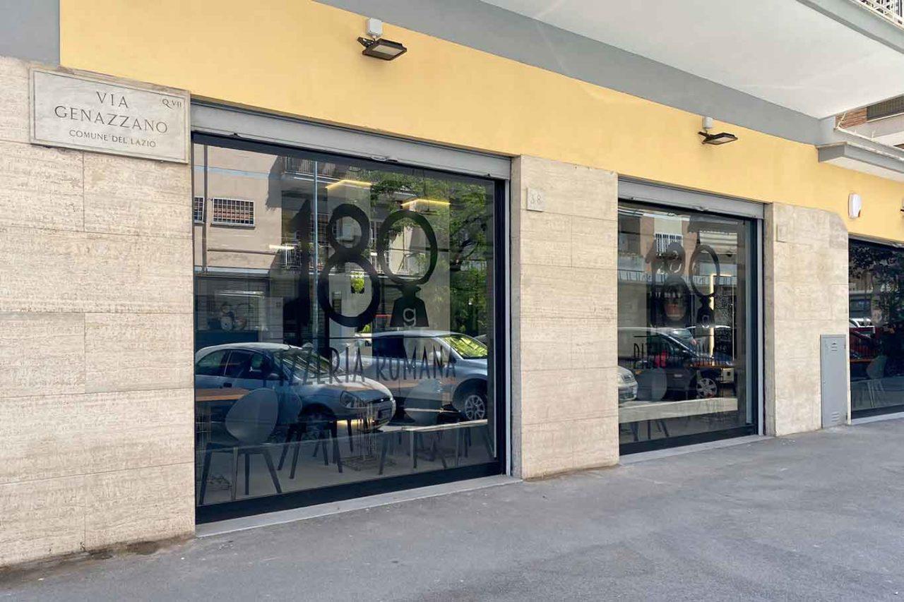 nuova pizzeria 180g Villa Gordiani Roma esterno