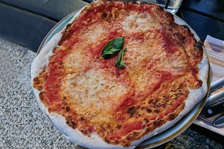 pizza di Sting margherita