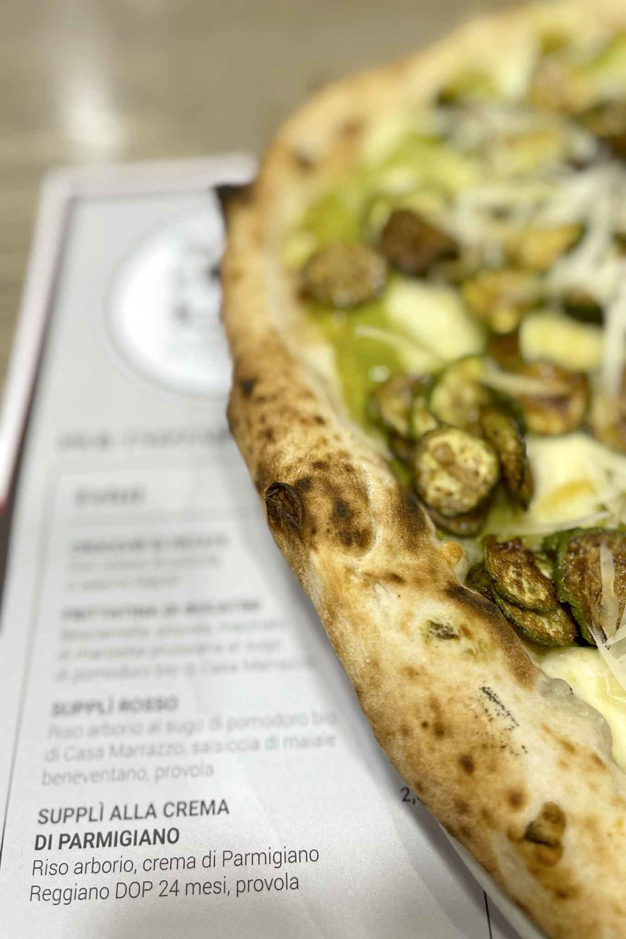 migliori pizze in estate: la Nerano di Ciro Salvo