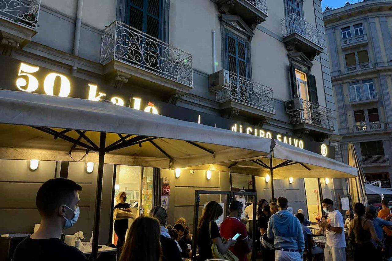 pizzeria 50 Kalò di Ciro Salvo ingresso
