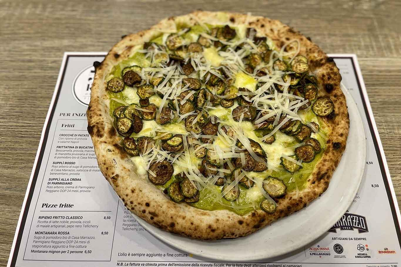 migliori pizze in estate: Nerano di 50 Kalò a Napoli