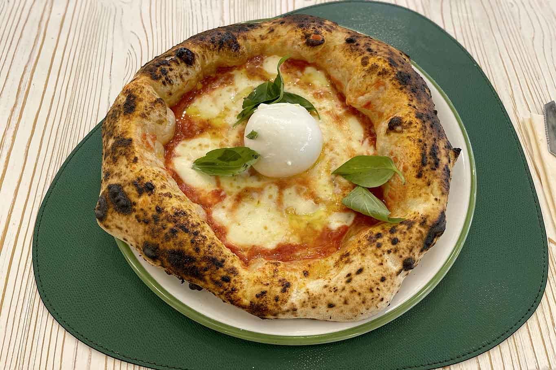 pizzeria Ciro Cascella Napoli pizza canotto margherita fiordilatte bufala