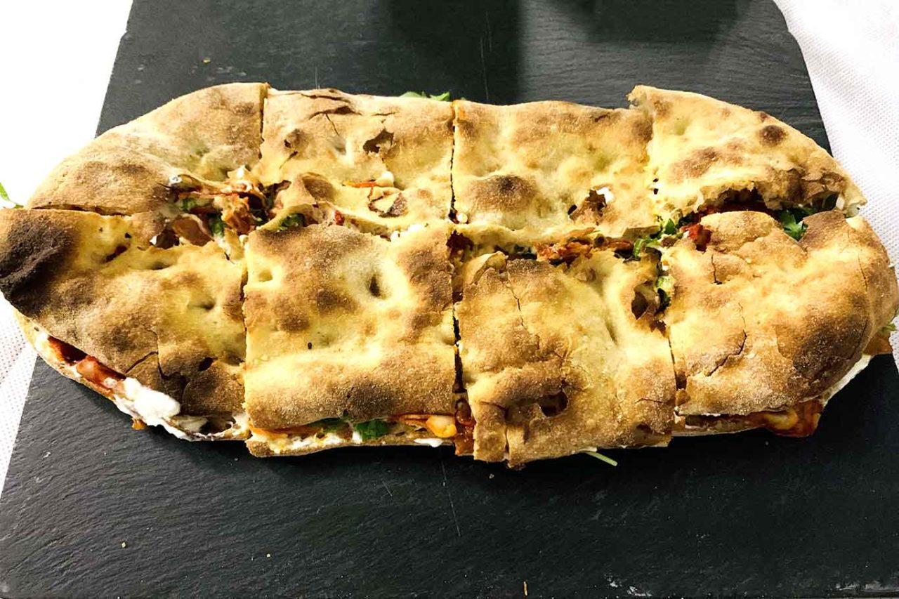 pizzeria La Sorgente Guardiagrele Abruzzo pizza ventricina