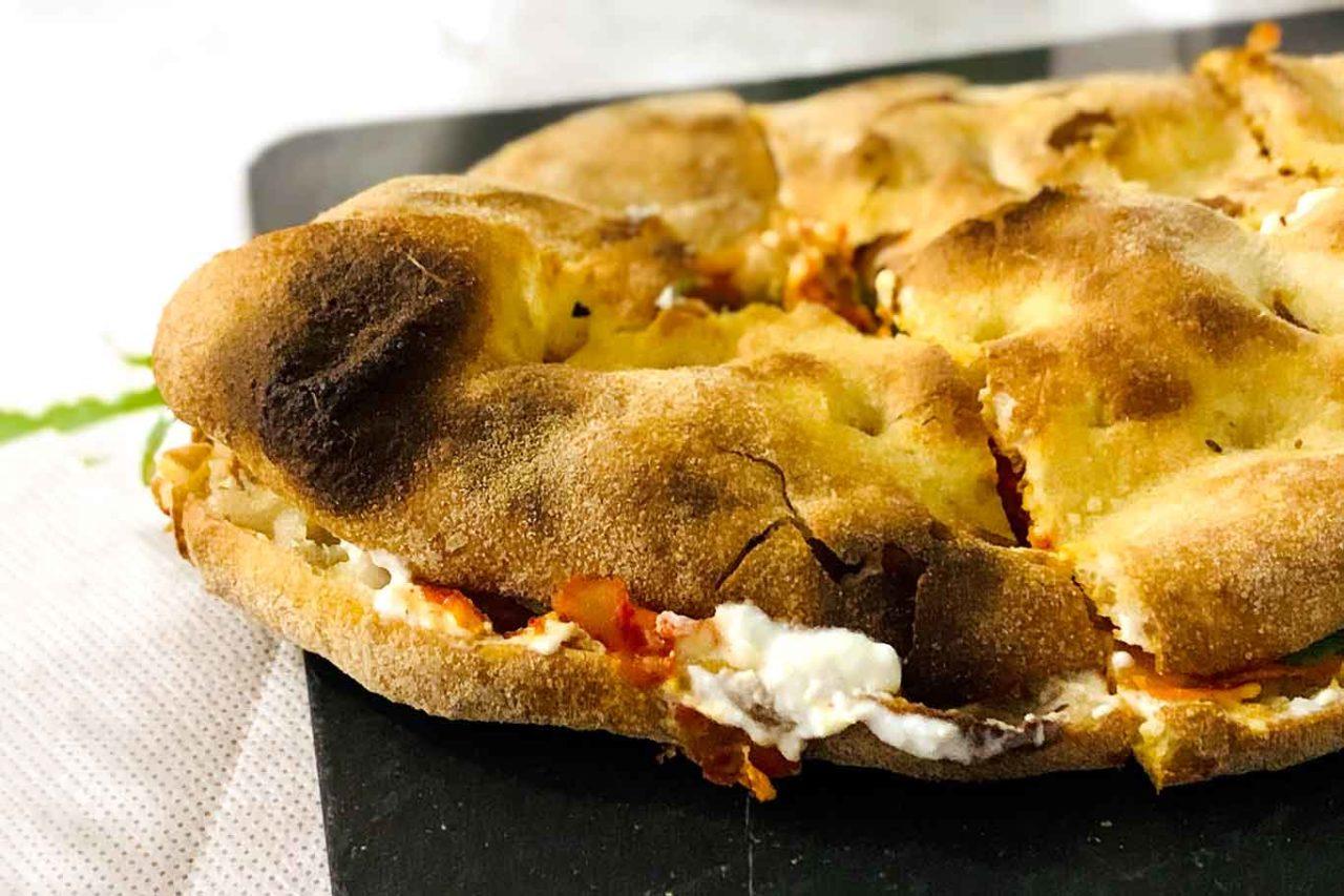 pizzeria La Sorgente Guardiagrele Abruzzo pizza romana in pala