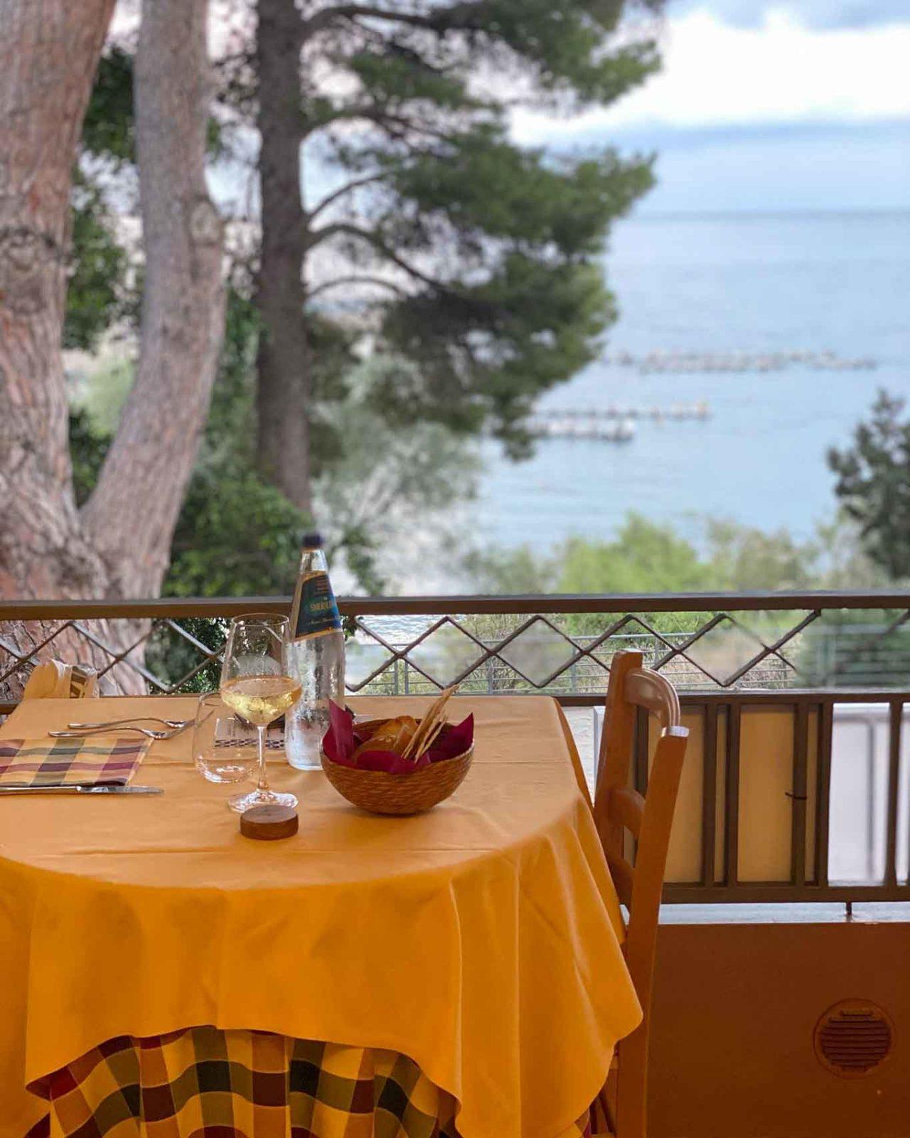 ristoranti mare Sardegna: 4 moro a Cala Gonone