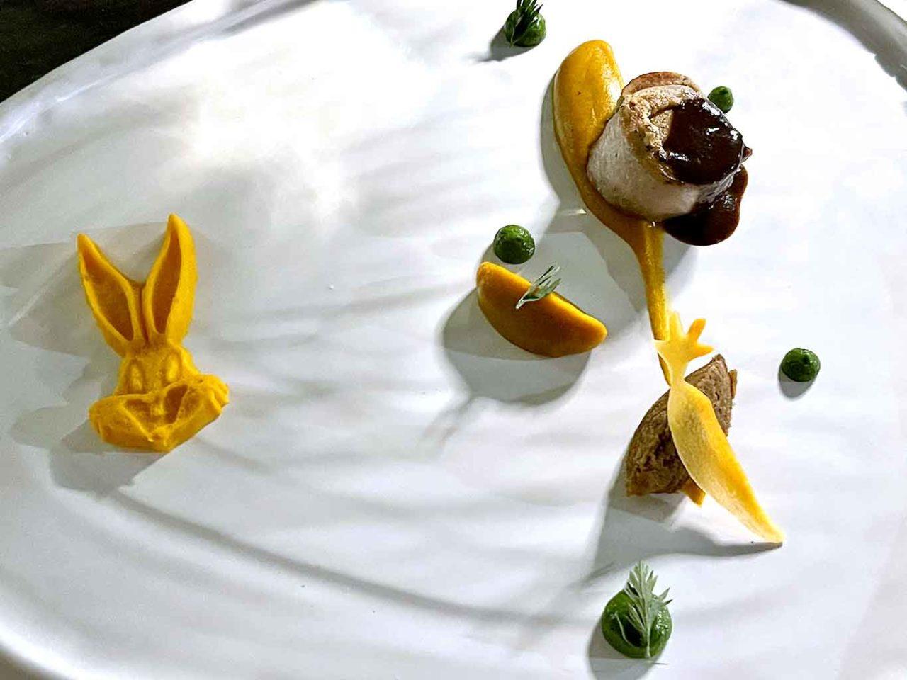 ristorante Il Cappero Isola di Vulcano Sicilia coniglio