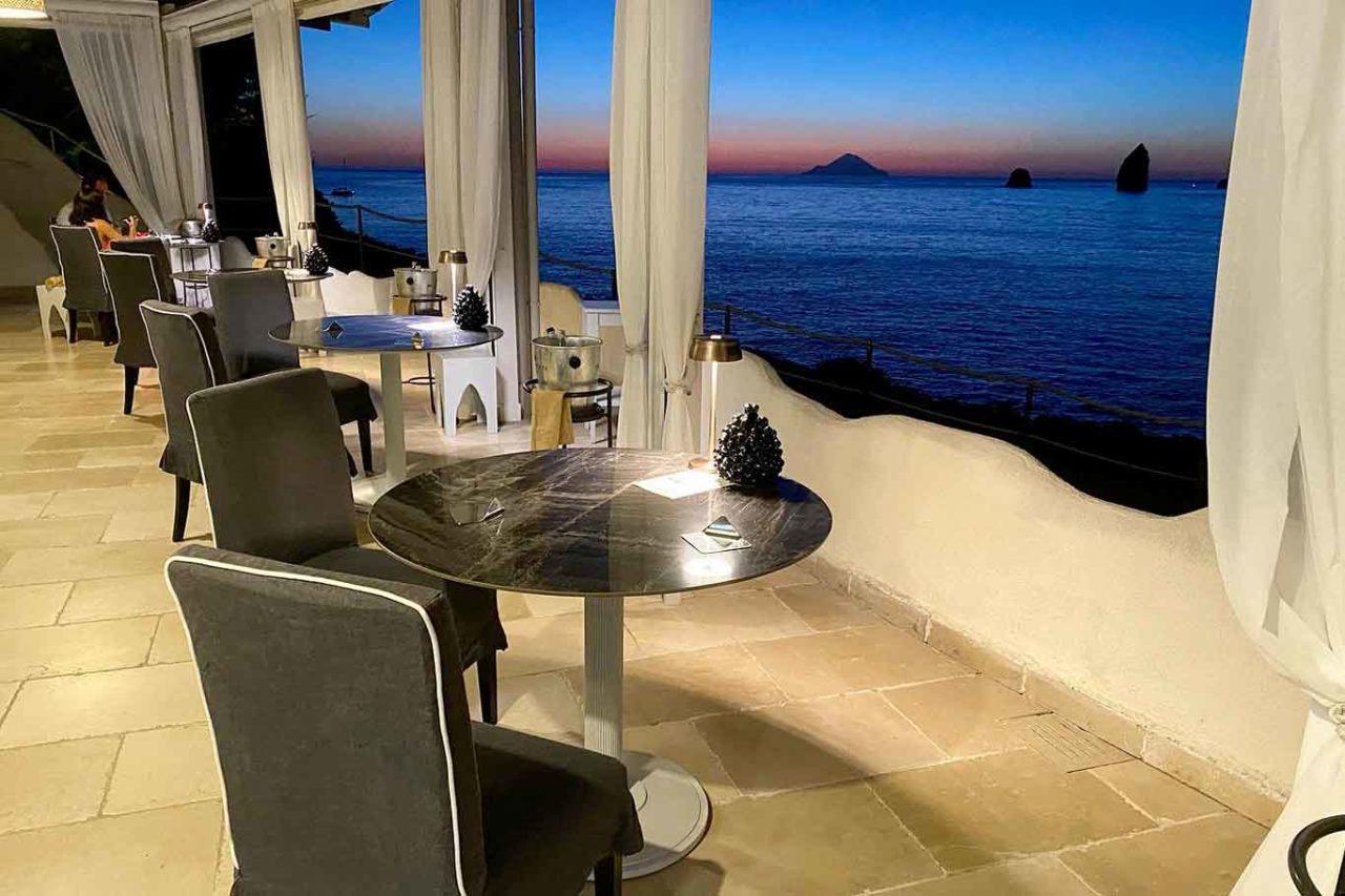 ristorante Il Cappero Isola di Vulcano Sicilia