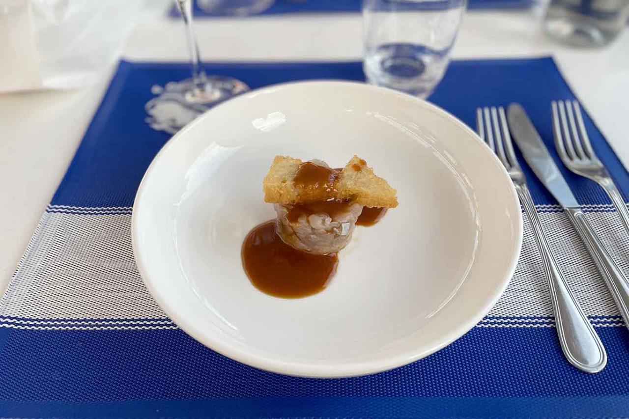 ristorante la Scialuppa da Salvatore a Fregene antipasto